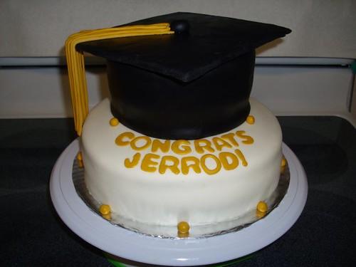 Graduation Cake Recipes Pictures : ESU Graduation Cap Cake Kali Flickr