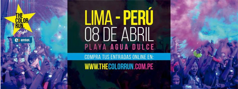 The Color Run Night, la noche más luminosa del planeta llega a Lima!