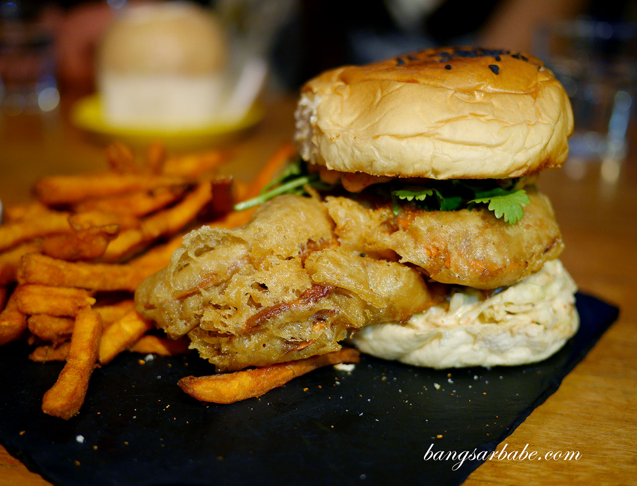 Jibby & Co's Softshell Crab Burger