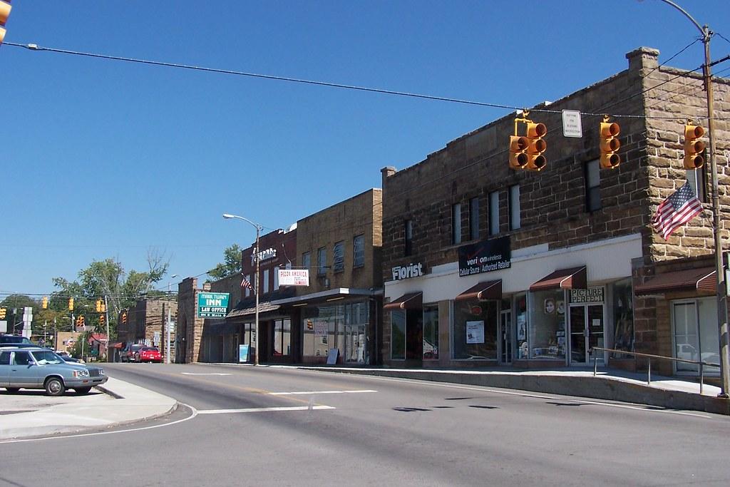 Beautiful Downtown Jamestown Tennessee Jamestown Is The