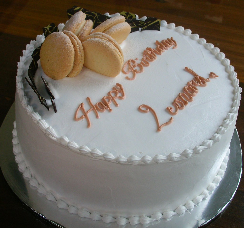 Leonard S Cake Ordered By Boey For Her Hubby Who Is A