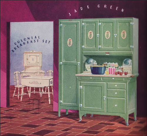 Free Kitchen Catalogs: 1928 Sellers Cabinet And Dining Set