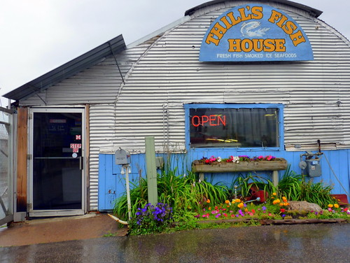 Yet another photo of thill 39 s fish house this time in the for Thill s fish house