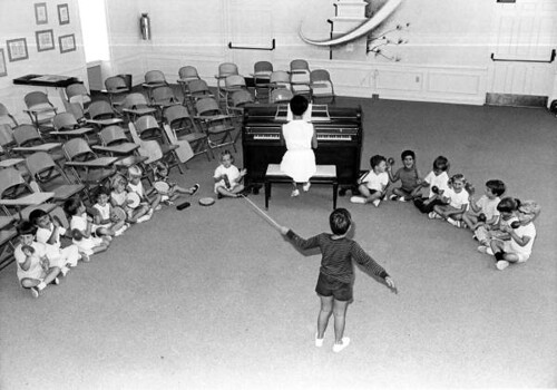 Pine Crest School students in a music class: Fort Lauderdale, Florida | by State Library and Archives of Florida