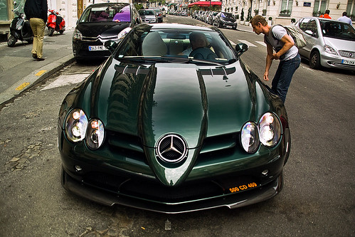 Mercedes Benz Slr Mclaren 722 Edition Green Not A Very