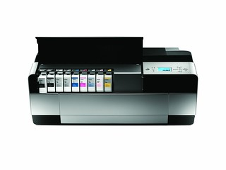 Epson Stylus Pro 3880 Front with Inks | by Epson America