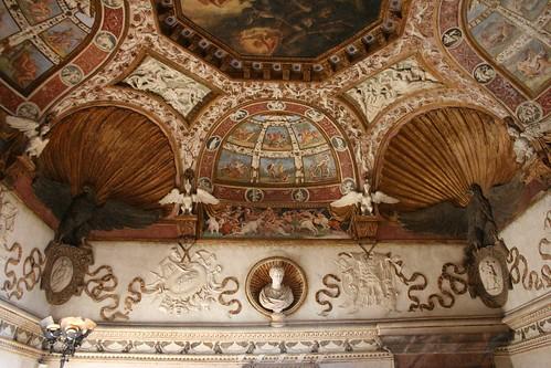 Camera delle aquile palazzo te mantova la camera for Stanza mantova