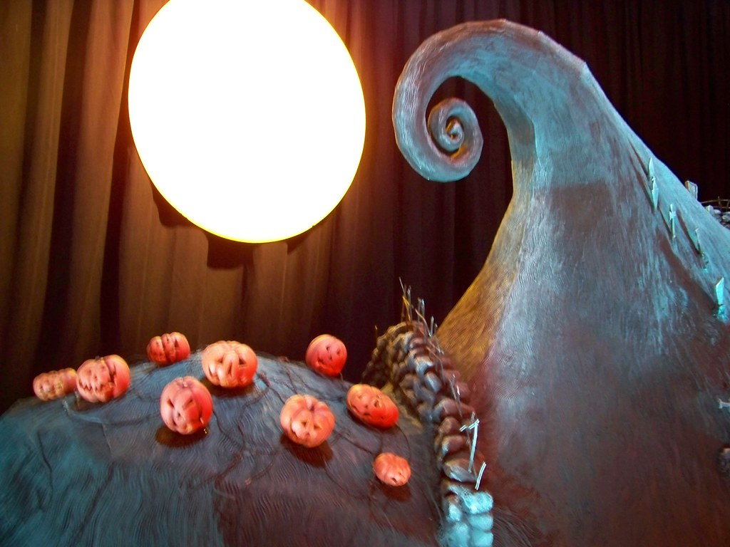Actual set from Nightmare Before Christmas at the El Capit… | Flickr
