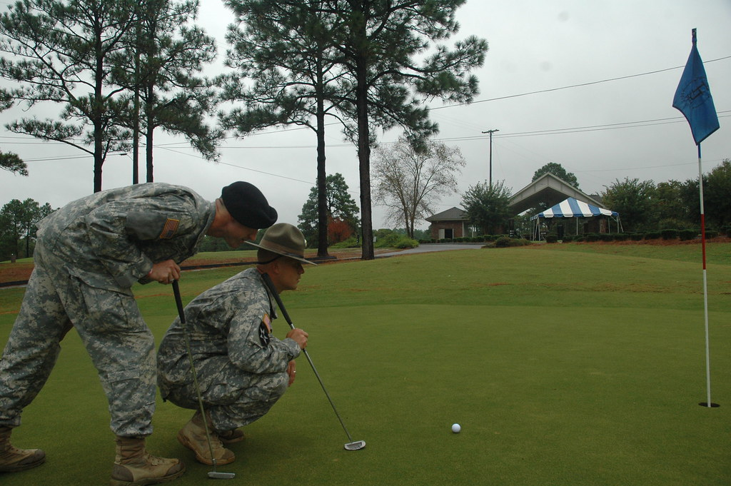 fort jackson golf course Elite golf course is a breeze for two Fort Jackson Soldier… | Flickr