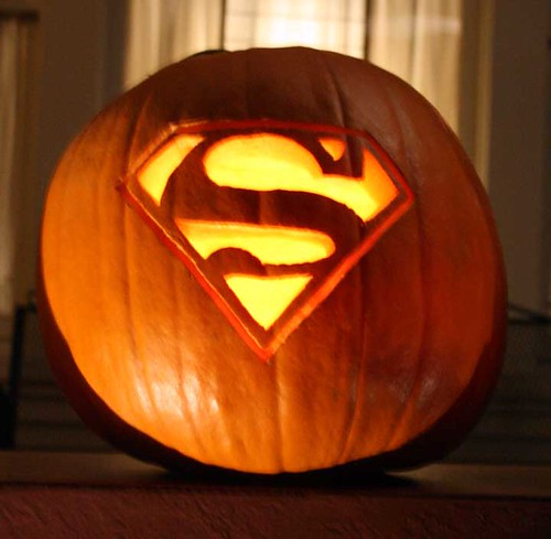 Superman Pumpkin Happy Halloween Corey Flickr
