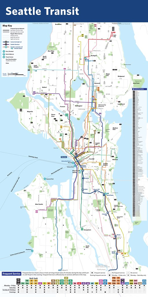 DRAFT Amp Unfinished Seattle Transit Map  It39s Not