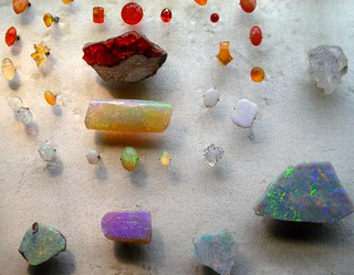 Opals in Museum of Natural History, NY | by lotos_leo