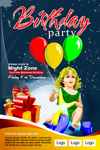 kids birthday party poster party poster by imam www party flickr