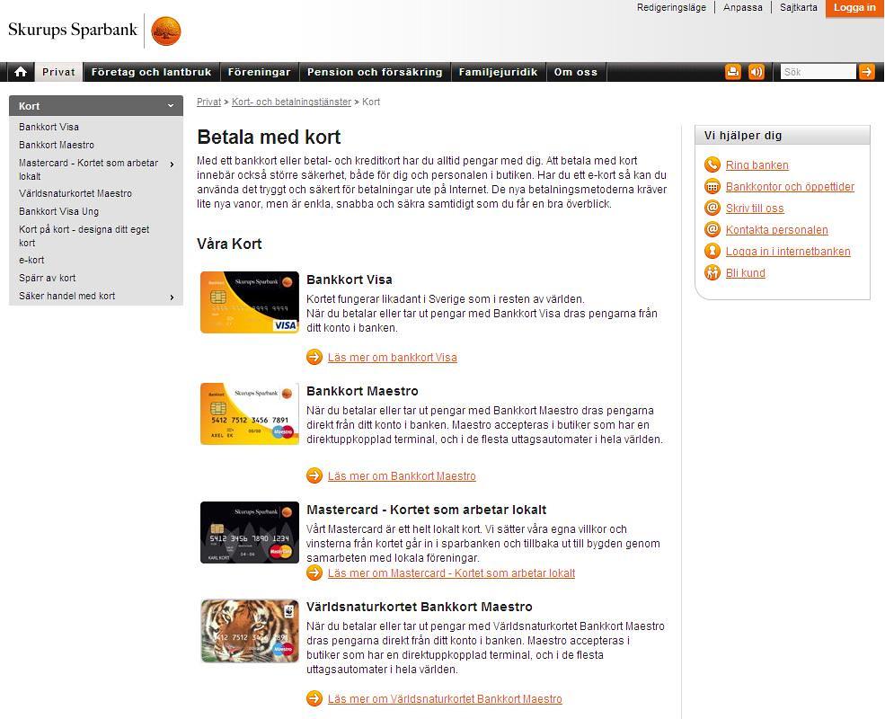 Skurups Sparbank Their New Website Skyhattsweden Flickr