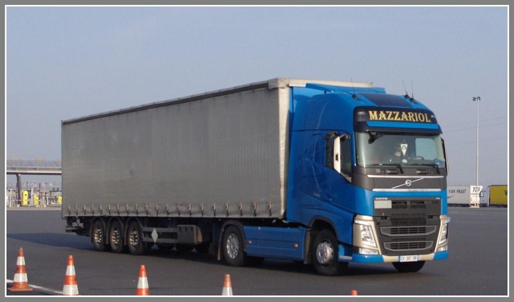 Volvo New Fh540 Globetrotter Transports Mazzariol Cazats