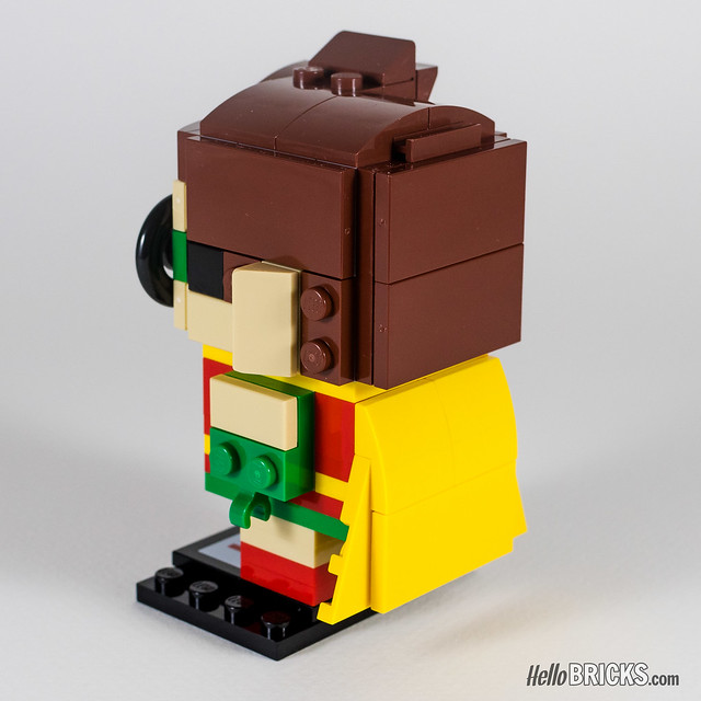 REVIEW LEGO BrickHeadz series 1 The LEGO Batman Movie 41587 Robin