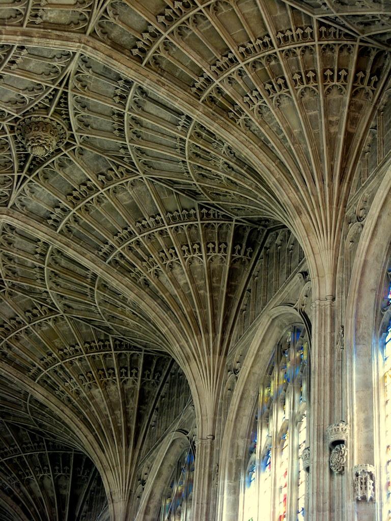Bosque g tico un bosque de nervios cubre la capilla del for Cambridge architecture