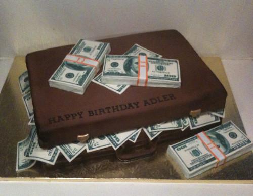 Money Suitcase Cake Bcakeny Flickr