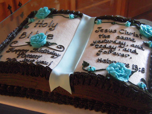 Images Of A Bible Cake