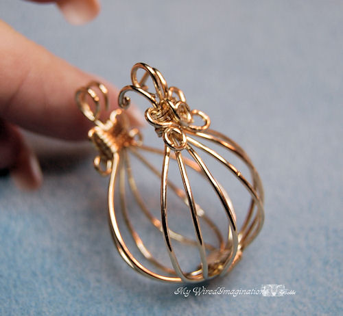 Hinged Cage Pendant This Design Is Very Very Old I