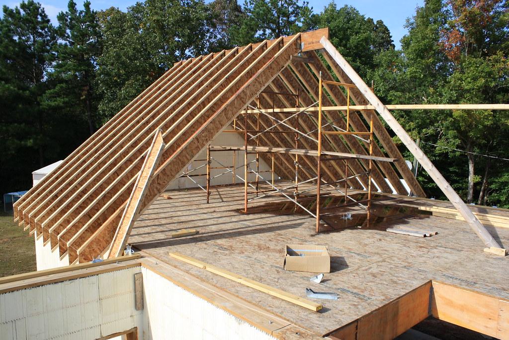 Roof Framing Rafters Over Gargae Mike Shipman Flickr