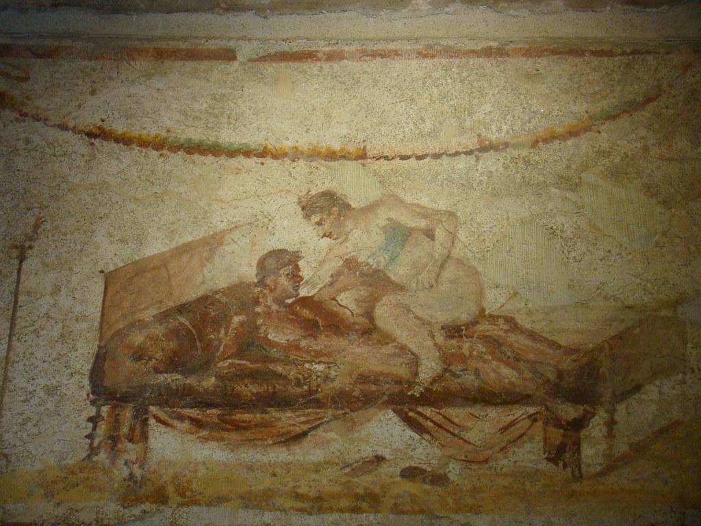 Sexy Painting, Pompeii Lupanare  Warrens Photo  F -3478