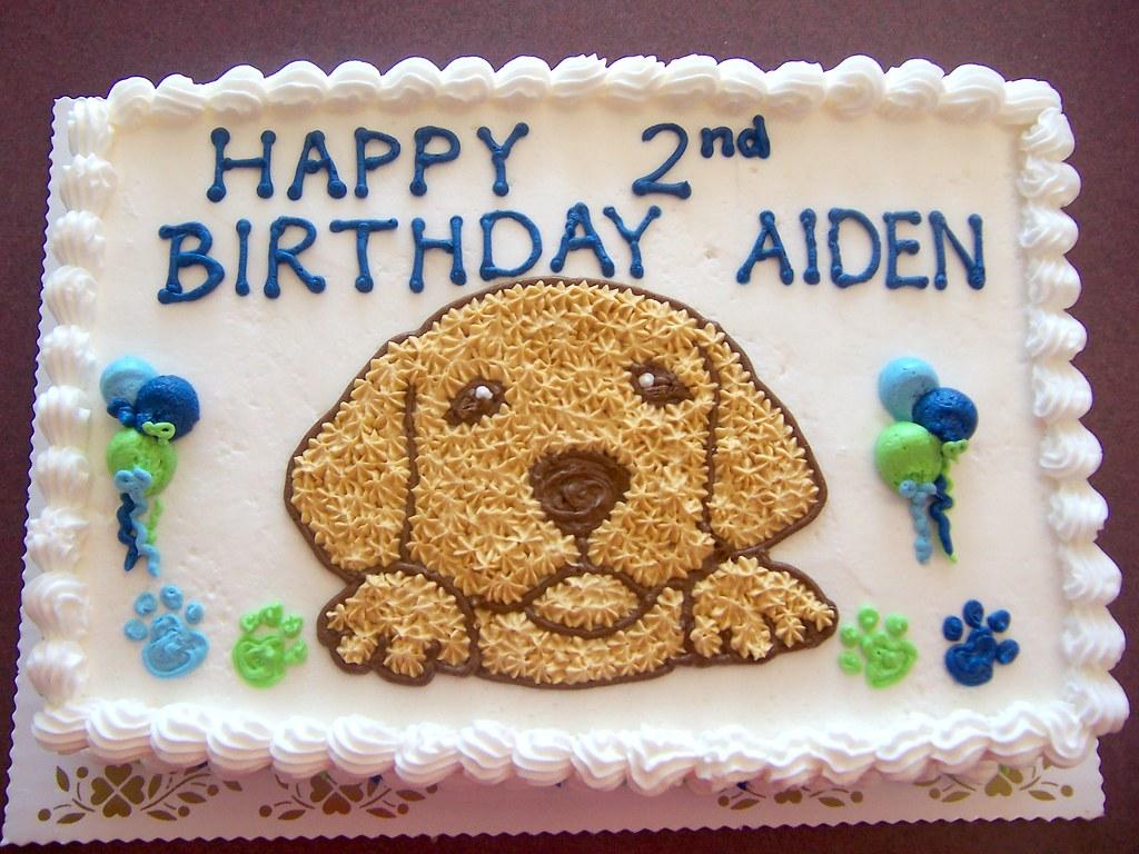 Puppy Dog Cake Custom Cake Linda S Kitchen Flickr