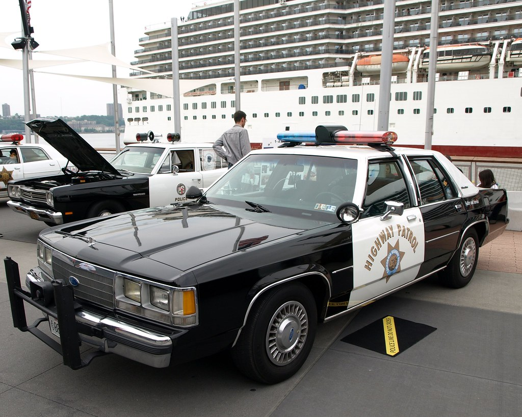 Vintage Ford Ltd Crown Victoria California Highway Patrol Flickr