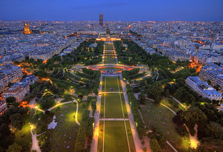 Paris - View of the Champ de Mars from the Eiffel Tower | by meenaghd