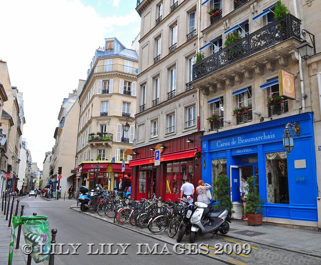 Paris Quartier Du Marais The Marais Neighborhood In Pari