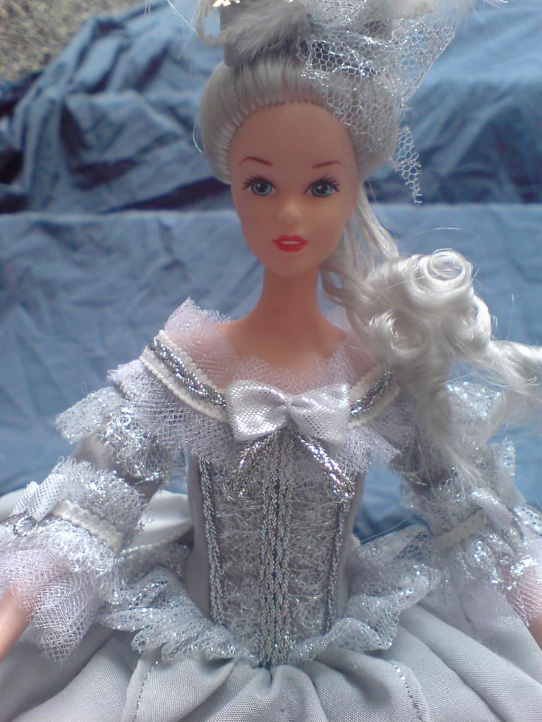 marie antoinette barbie doll ooak french queen royalt by jorge 81 mx - Barbie Marie