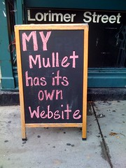 my mullet has its own website | by JLB