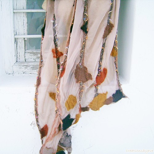 enchanted forest scarf (1) | by creationsbyeve