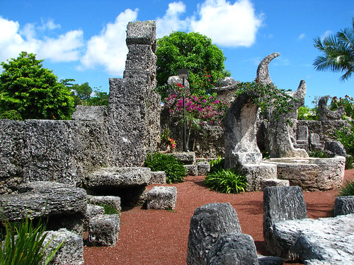 Coral castle museum interior quotfurniturequot homestead mi for Furniture upholstery homestead fl