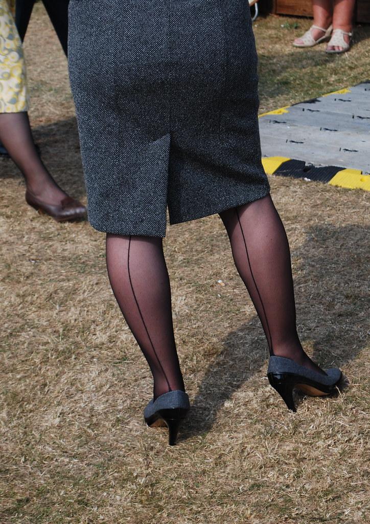 Seamed Stockings | Les Stott | Flickr