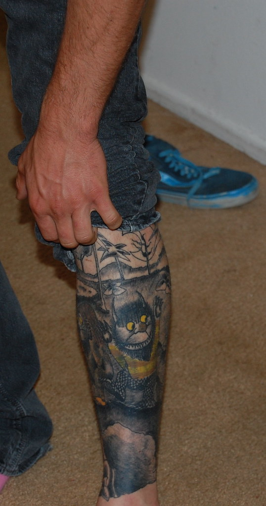 Where The Wild Things Are Tattoo Caitlinrunning Flickr