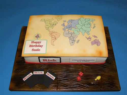 Risk Cake This Cake Was For A Friend Who Loves Strategy