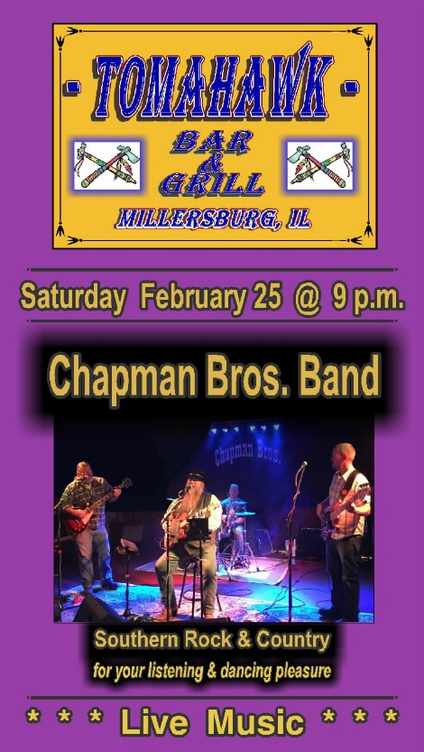Chapman Bros 2-25-17