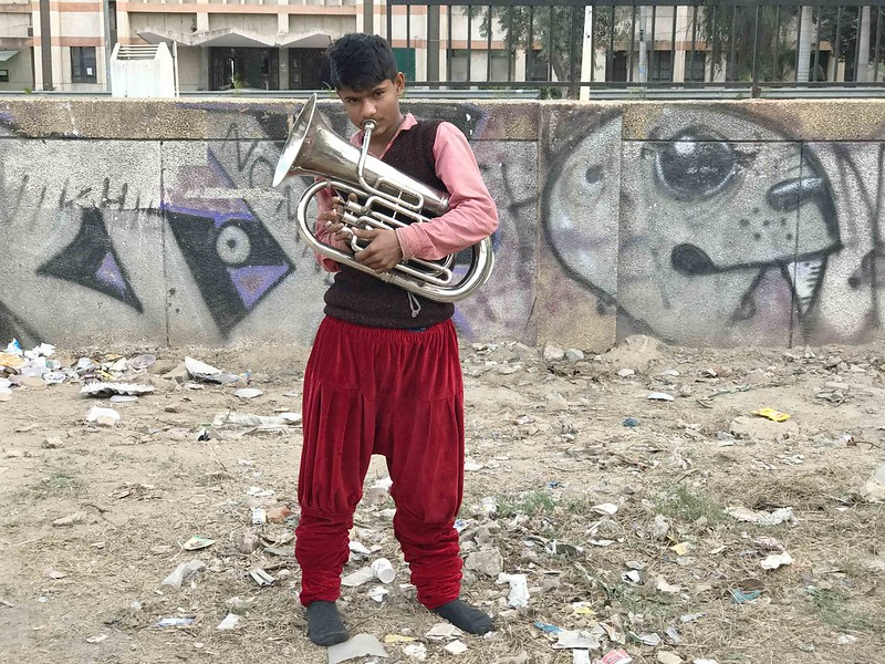 City Moment - The Soundless Bugle from a Musicians, Lodhi Road