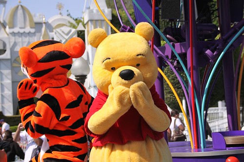 Celebrate! A Street Party: Tigger and Winnie the Pooh | by armadillo444