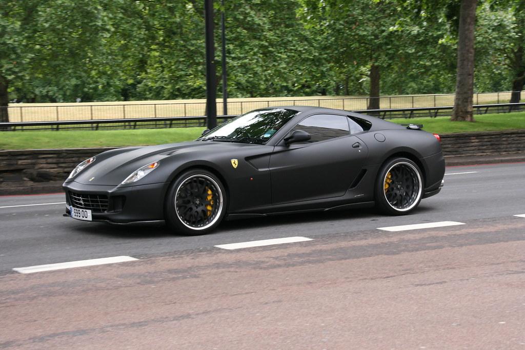 Mat Black Ferrari 599 GTB Fiorano Hamann. | klaas brink ...