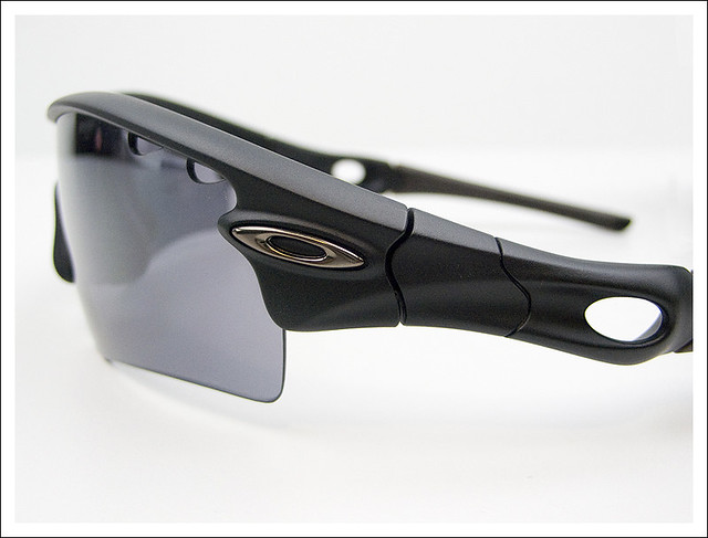 custom oakley radar 4i4f  Custom Oakley Radar Path Matt Black Sunglasses  by wuyeah