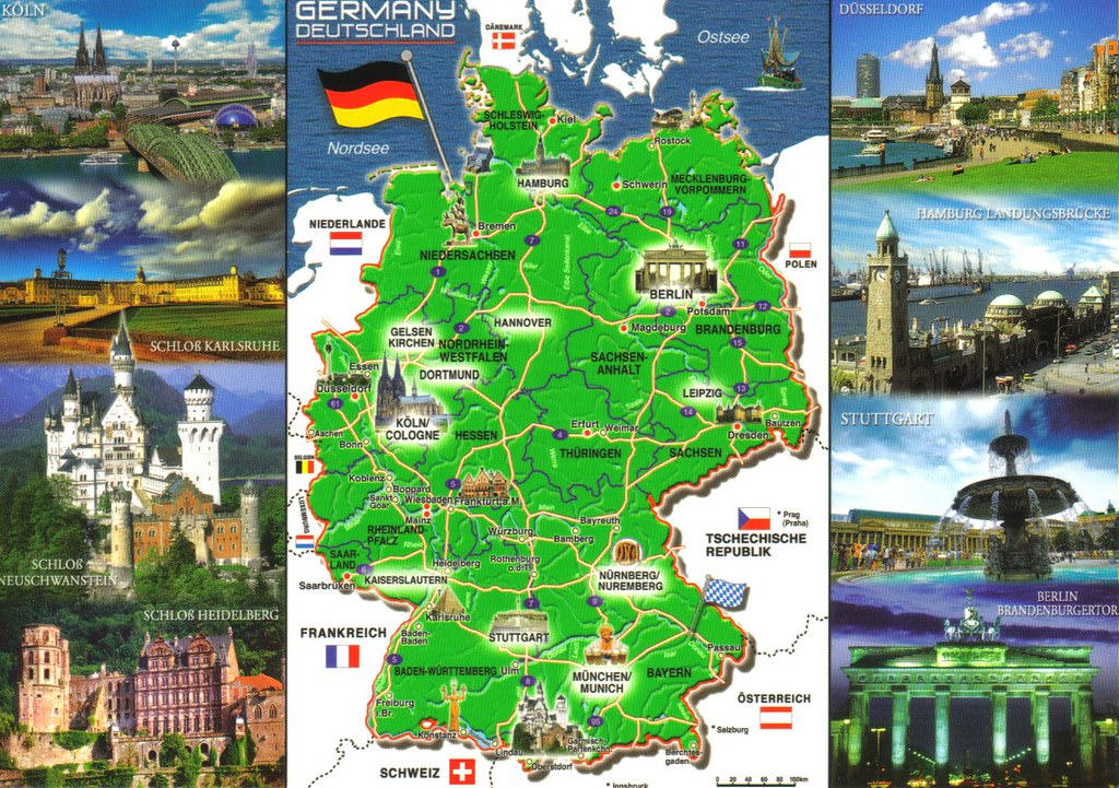 Tourist Destinations North Germany Munich vacation packages book
