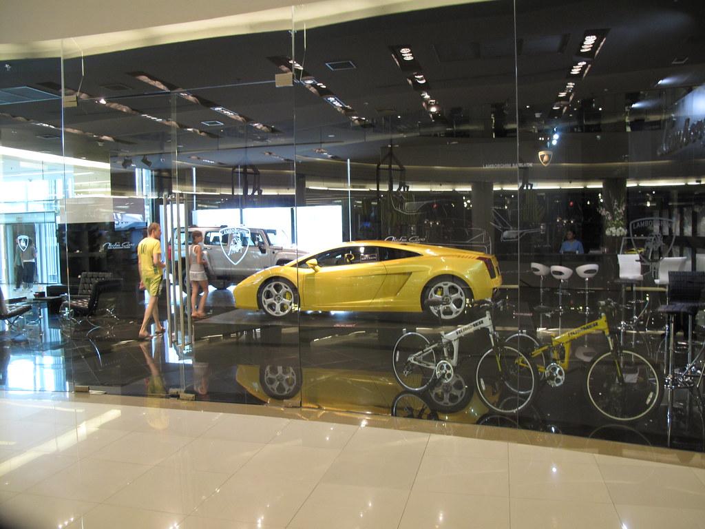 Lamborghini Store Emporium Bangkok Thailand A