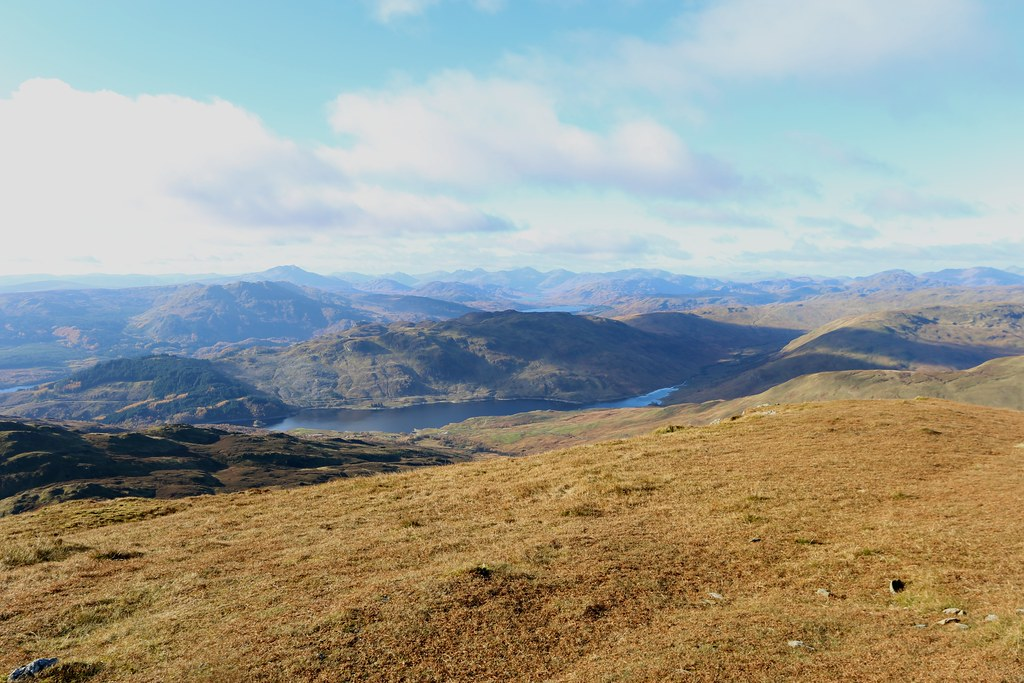 Arrochar from Ben Ledi