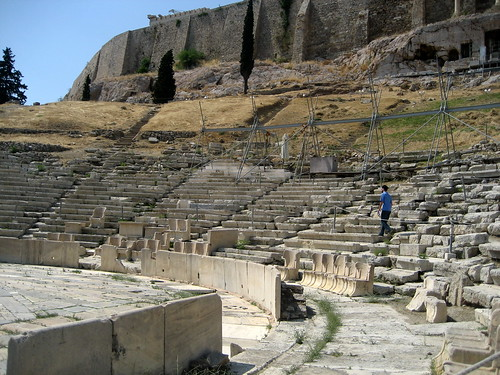 Athens- Theater of Dionysus 2009