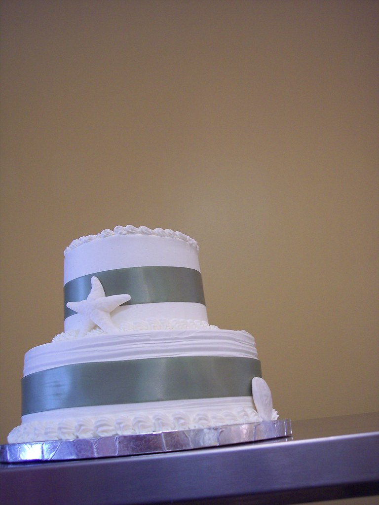 beach wedding cake wilmington nc carolina cakes confect flickr