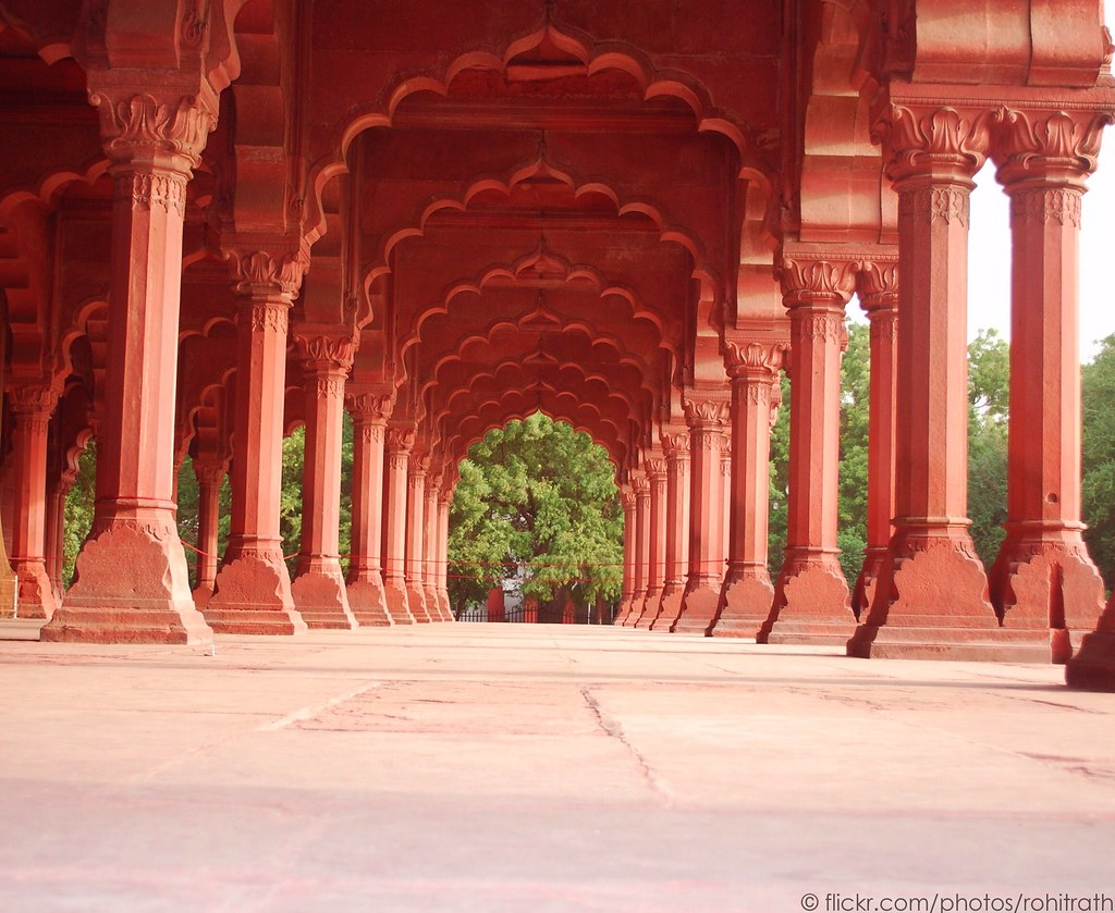 Diwan e aam red fort delhi rohit rath flickr for Diwan i aam images