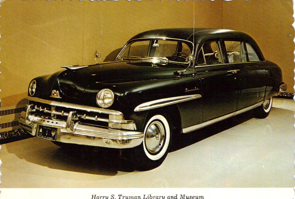 1950 Lincoln Presidential Car Harry S Truman Coconv Flickr