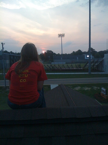 watching the sunrise on the roof | by UAM BCM
